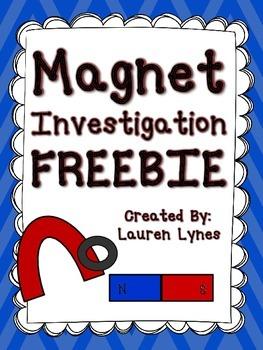 Magnet Investigation FREEBIE!