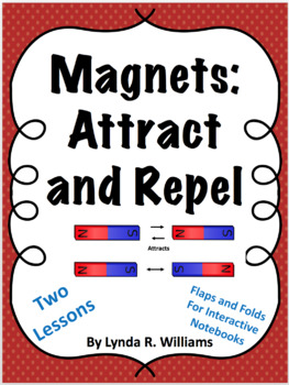 Magnet Lessons on Attract and Repel With Interactive Notebook Inserts