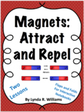 Magnet Lessons on Attract and Repel NGSS 3-PS2-3 and 3-PS2-4