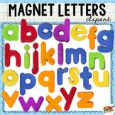 Magnet Letter Clip Art (Lowercase Alphabet)