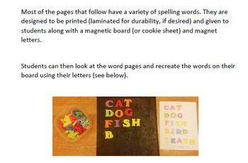 Magnet Letter Spelling