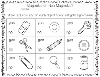 Magnet Mania!  A non-fiction and discovery mini unit