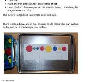 Magnet Matching Cards