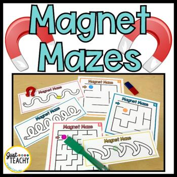 Magnet Pathways and Mazes