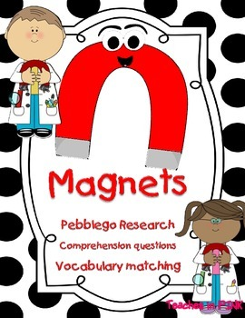 Magnets (Pebblego comprehension questions and vocabulary) #2fortuesday