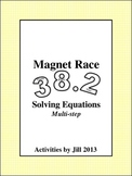 Magnet Races: Multi-Step Equations