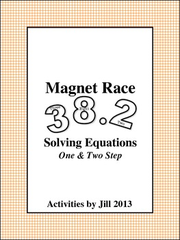 Magnet Races: One & Two Step Equations