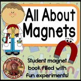 Magnet Science book with 5 magnet activities