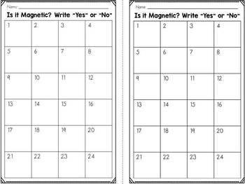 Magnet Sort - Is it Magnetic?