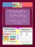 Magnet Station / Center January to May Pack