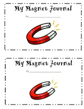Magnet Stations Student recording booklet