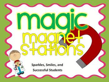 Magnet Bundle: Magnet Stations and Book