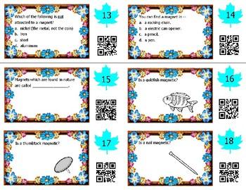 Magnet Task Cards -- Science