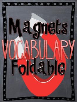 Magnet Vocabulary Foldable