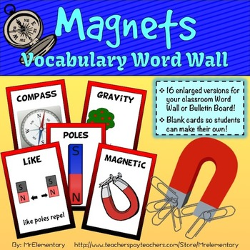 Magnet Vocabulary Word Wall