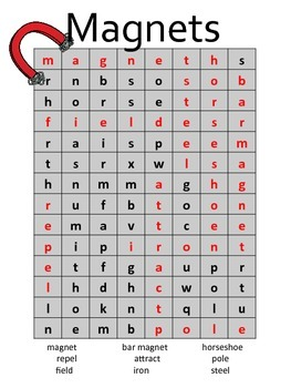 Magnet Word Search