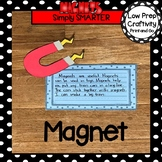 Magnet Writing Cut and Paste Craftivity