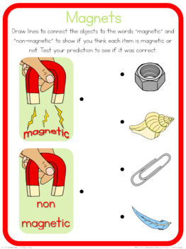 Magnet circle time questions