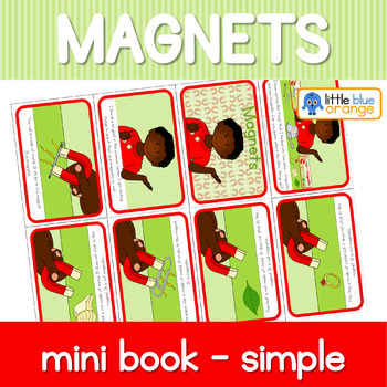 Magnet mini book (simplified version)