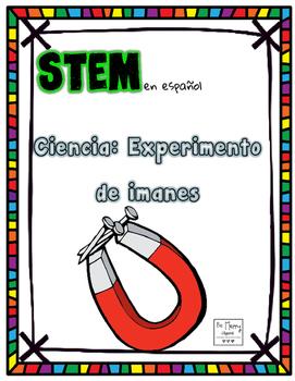 Magnet/Nonmagnetic Worksheet STEM en Espanol