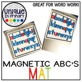 Magnetic ABC Mat