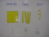 Magnetic Base Ten Blocks