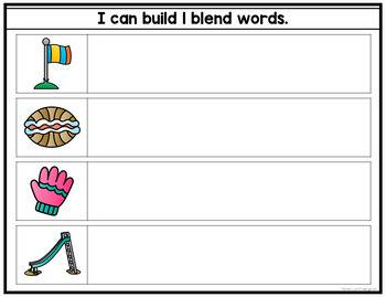 Magnetic Blends Literacy Center