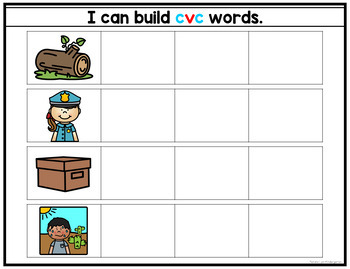 Magnetic CVC Words