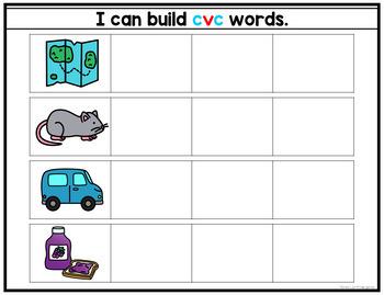 Magnetic CVC Words
