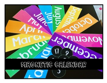 Magnetic Calendar - Days of the Week
