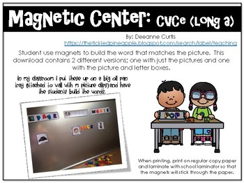 Magnetic Center-CVCe (Long A)