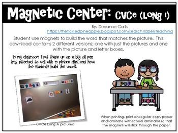 Magnetic Center-CVCe (Long I)