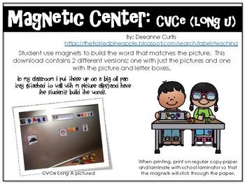 Magnetic Center-CVCe (Long U)