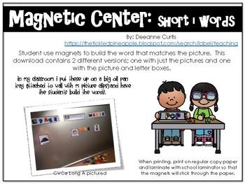 Magnetic Center-short i