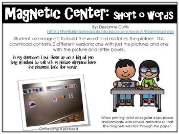 Magnetic Center-short o