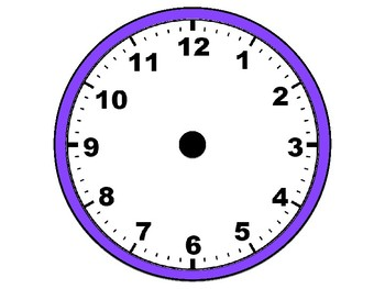 Magnetic Clock - Telling Time