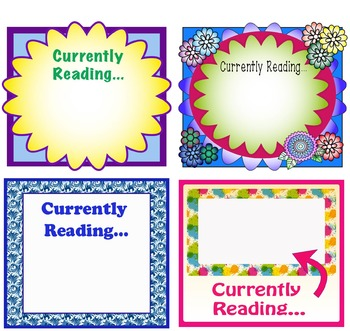 Magnetic Currently Reading Locker Signs--great for Back to School!