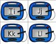 Magnetic Drawing Board Literacy Center / Station - Alphabet Edition