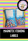 Magnetic Fishing Labels