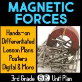 Magnetic Forces & Design Challenge 5E Unit Plan for Third Grade
