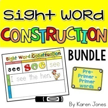 Word Work for the YEAR {Magnetic Letter BUNDLE}