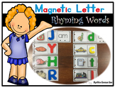 Magnetic Letter Book of Rhyming Words