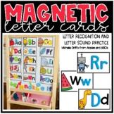 Magnetic Letter Cards