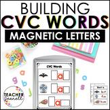 CVC Words Magnetic Letter Activities