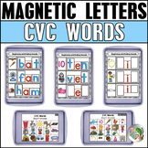 CVC Words Magnetic Letter Center