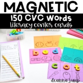 Magnetic Letter Center CVC Words