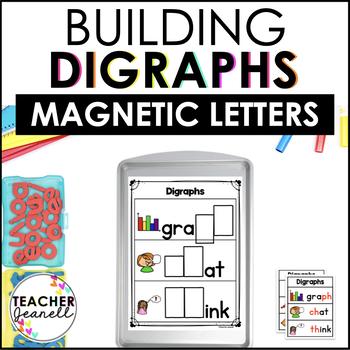 Digraphs Magnetic Letter Center