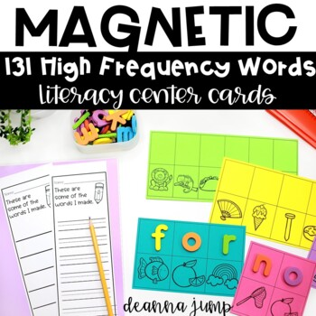 Magnetic Letter Center Dolch Sight Words