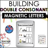 Double Final Consonants Magnetic Letter Activities