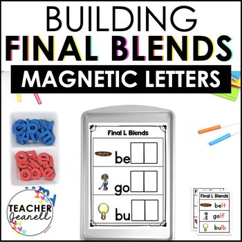 Final Consonant Blends Magnetic Letter Center